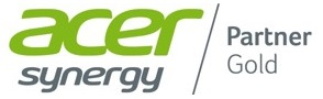 Acer logo Synergy gold